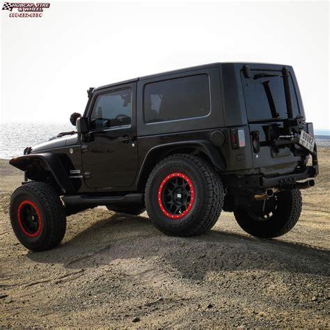 black jeep wheels jeep wrangler xd series xd127 bully wheels satin black and