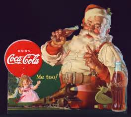 20 vintage santa claus illustrations by coca cola20