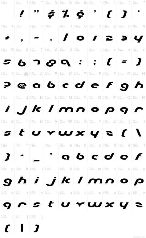 Metroplex Expanded font