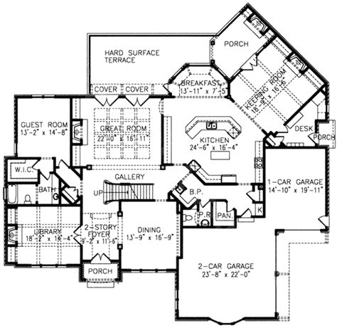 keeping room house plans architectural designs
