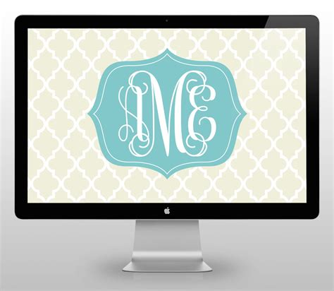 computer wallpaper monogram desktop wallpaper september 2015