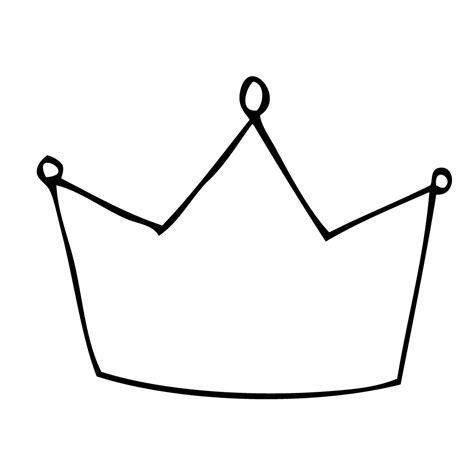 simple crown coloring page king of da jungle clipart best clipart best