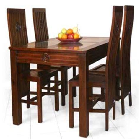 desain meja makan kayu desain meja makan kayu jati klasik desain rumah