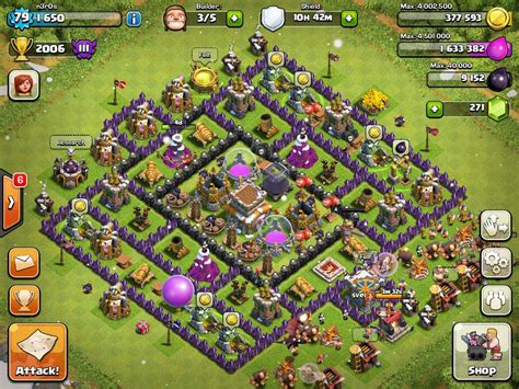 coc strong layout top 5 defensive layout for coc town hall 8 topp5