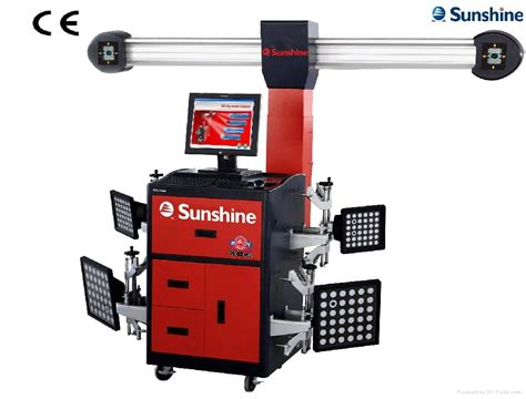 workshop equipment 3d wheel alignment with ce sx g7