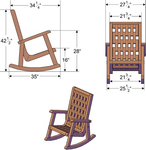 Rocking Chair Dimensions by Lighthouse Rocking Chair Dimensions Images Frompo