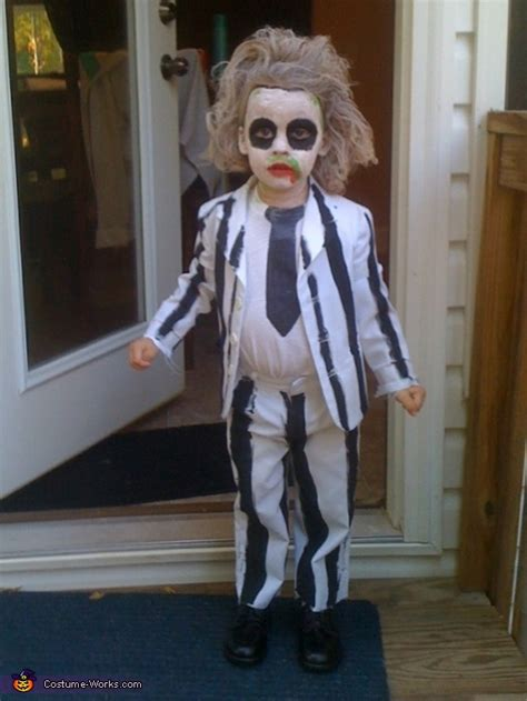 beetlejuice costume   boy photo