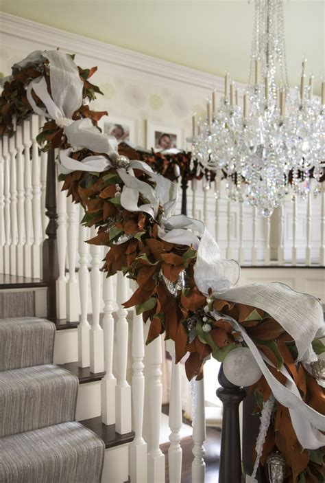 banister christmas decorations top 40 stunning christmas decorating ideas for staircase