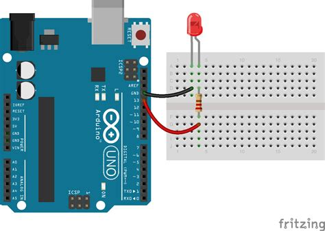 using resistors with arduino javascript robotics led blink with johnny five