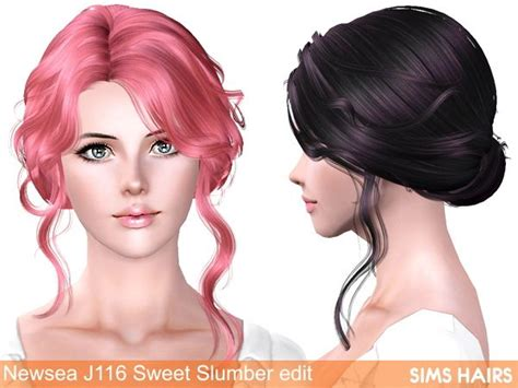 etenid sims 3custom content hair 199 best images about custom content sims 4 on pinterest