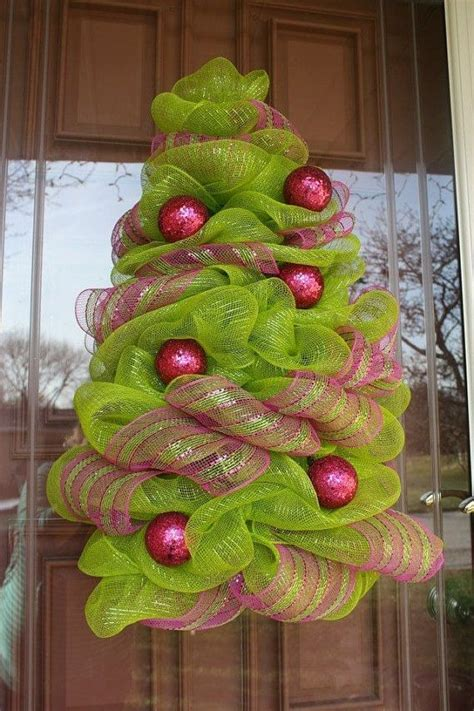 christmas tree mesh netting 76 best images about mesh tree s on