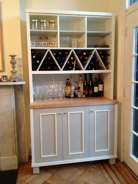 Wine Rack Kitchen Cabinet by Zigzag Shaped Wine Racks With Multi Purposes Kitchen Wall