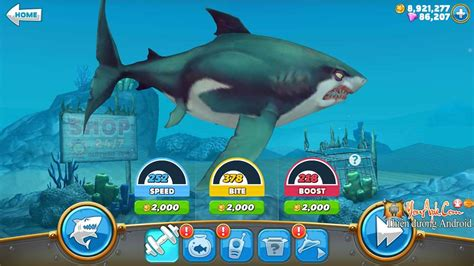 các game mod cho android hungry shark world mod tiền game c 225 lớn nuốt c 225 b 233 3d
