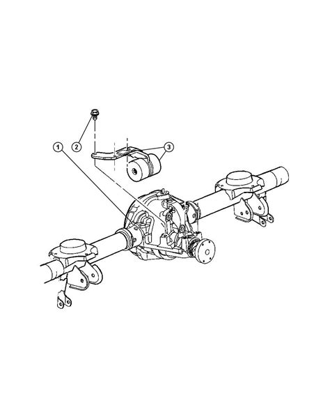 Jeep Liberty Rear Axle 2003 Jeep Liberty Axle Assembly Rear Corporate 8 25 Dra