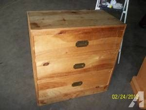 3 drawer chest of drawers solid wood for sale in