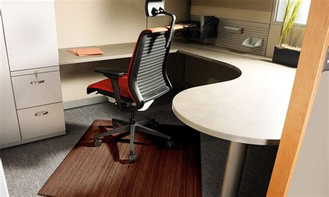 under desk chair mat how to pick a mat to use under an office chair overstock com