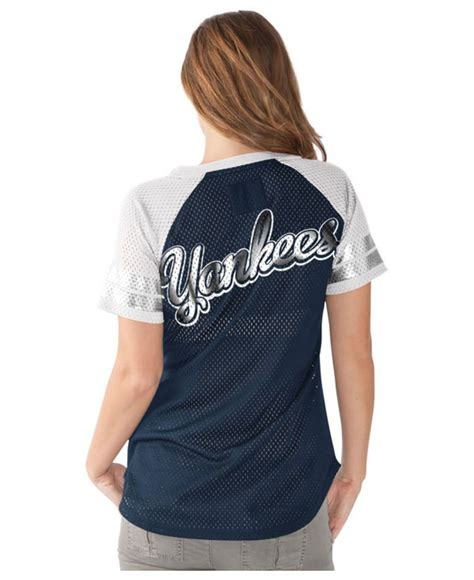 Syakee Dress Ck g3 sports s new york yankees all mesh t shirt in blue navy white lyst