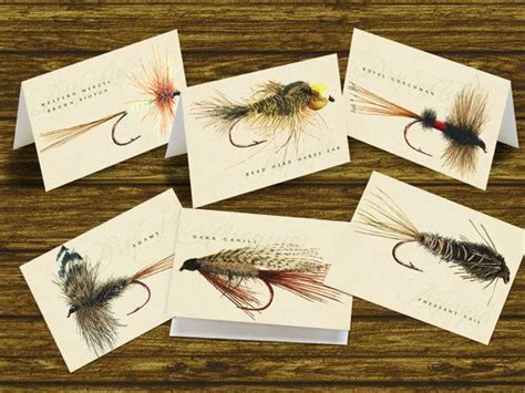 Thank you cards, best man gifts, outdoors cards, fly