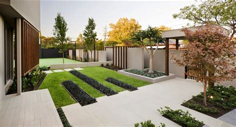 Contemporary Backyard Landscaping Ideas Garden Design Ideas Modern Pdf