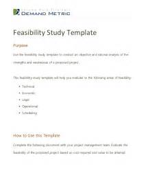 Feasibility Report Sample Pdf Feasibility Study Template