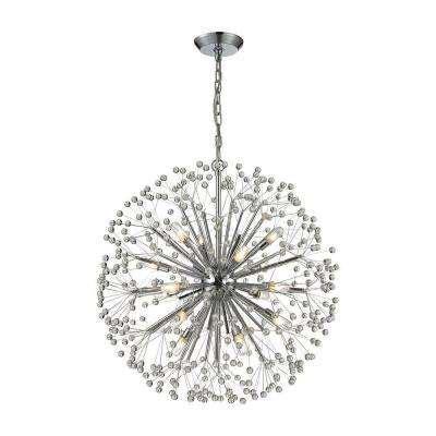starburst chandelier starburst chandeliers hanging lights the home depot