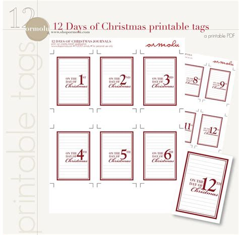 12 Days Of Christmas Printable Search Results Calendar 2015 12 Days Of Printable Templates