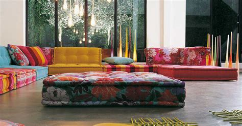 roche bobois stylish and functional mah jong modular sofas