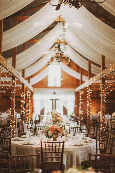 wedding reception lighting ideas rustic barn wedding decoration ideas photos pro