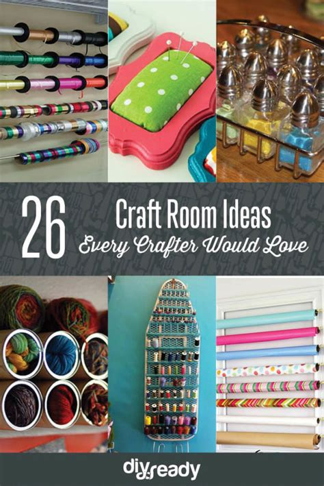 26 craft room ideas every crafter would veryhom