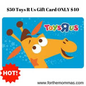 Toys R Us 10 Gift Card - 50 00 toys r us gift card for only 40 00 ftm