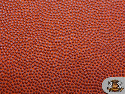 Faux Leather Upholstery Material Vinyl Basketball Orange Fake Leather Upholstery Fabric