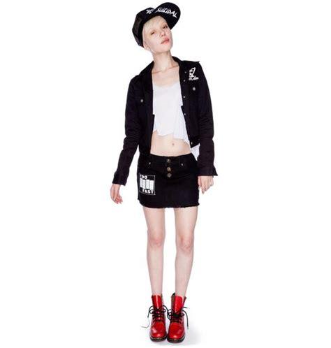 Malta Skirt fast malta moto mini skirt dolls kill