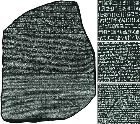 rosetta stone history what does the rosetta stone signify in egyptian history