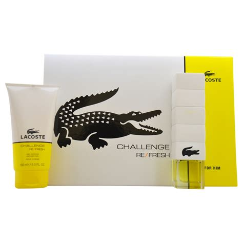 lacoste challenge refresh lacoste challenge refresh by for 2 pc gift set 3oz