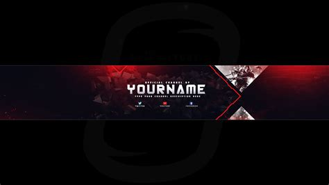 anthony boyd graphics free 2017 youtube channel art banner