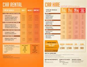 List Of Car Rental In Metro Manila Cheap Manila Car Rental Rates Philippines Car Hire Price