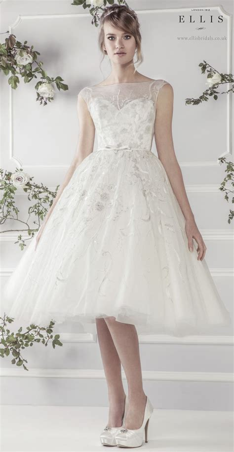 ellis2015 charming knee length soft tulle dress with