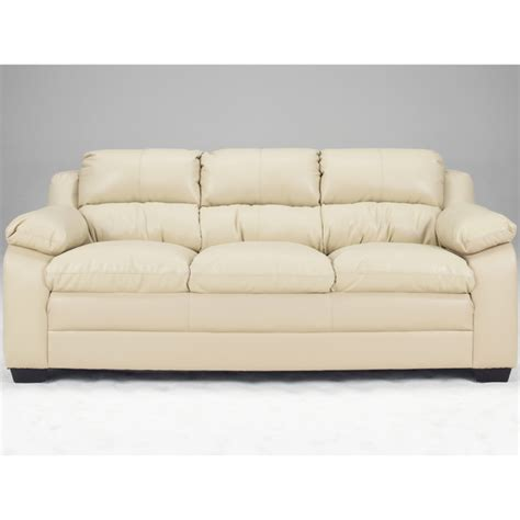 art van leather sofa art van maddox natural finish blended leather sofa