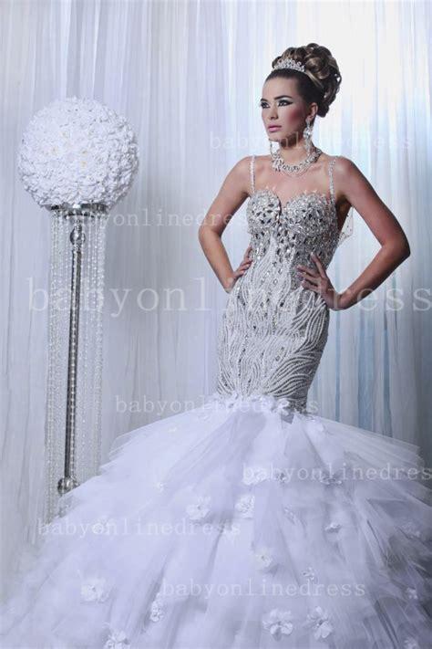buy wedding dresses china mermaid spaghetti straps beaded