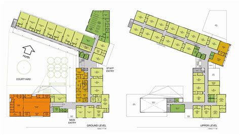 elementary school floor plans simple school building plans modern house