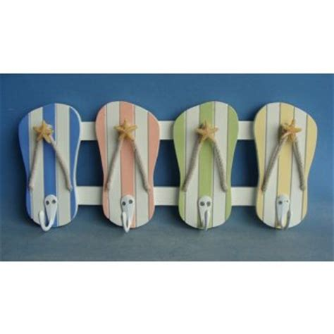 Flip Flop Wall Decor by Colorful Flip Flop Wall Hooks