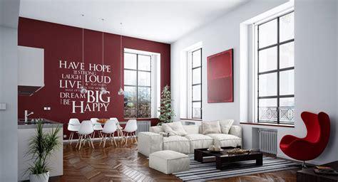 parete rossa soggiorno ristrutturare casa ristruttura con noi la tua casa