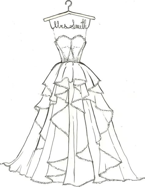 Coloring Page Dress by Dress Coloring Pages To And Print For Free