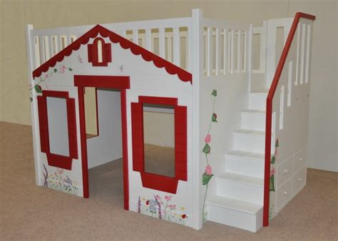 mindy bunk bed custom designed and built by tanglewood