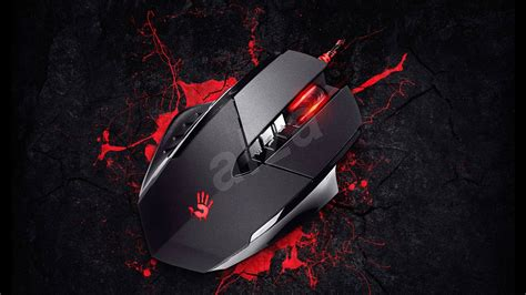 A4tech Bloody V4ma 3200dpi Optical Macro Gaming Mouse With Metal a4tech bloody v7 v track 2 gaming mouse alzashop