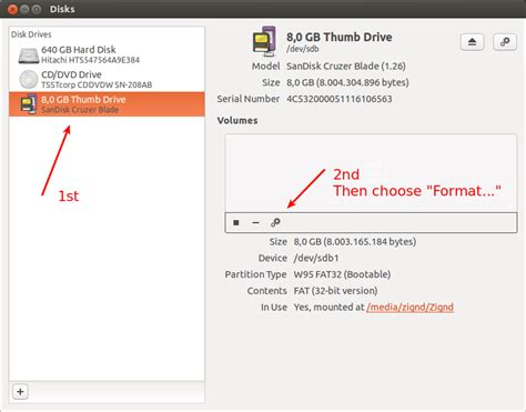 format fat32 in ubuntu ubuntu 格式化usb how to format a usb flash drive