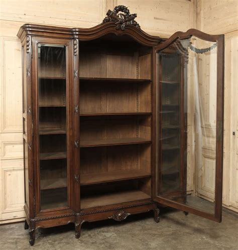 Display Armoire by Antique Louis Xvi Walnut Display Armoire At 1stdibs