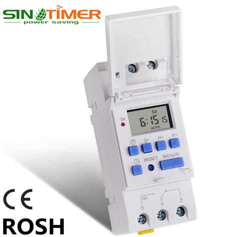 Timer Digital Programmable Listrik 220v 16a 2000 W Max buy wholesale digital timer from china