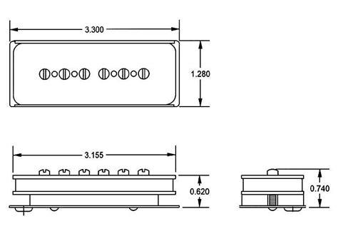 custom p90 bridge seymour duncan