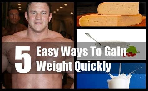Ways To Gain Weight by 5 Easy Ways To Gain Weight Quickly Tips For Gaining